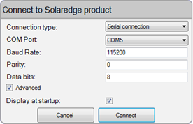 Appendix B: Configuring the Home Gateway Connecting to the Home Gateway via the SolarEdge Configuration Tool 1 Download and install the configuration tool as described in its manual.
