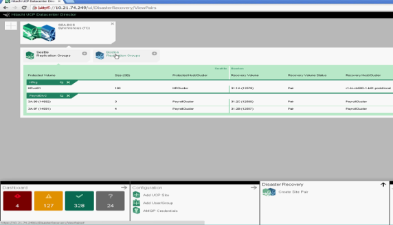 Disaster recovery with ease Inventory Provision Operate Monitor VMware vcenter