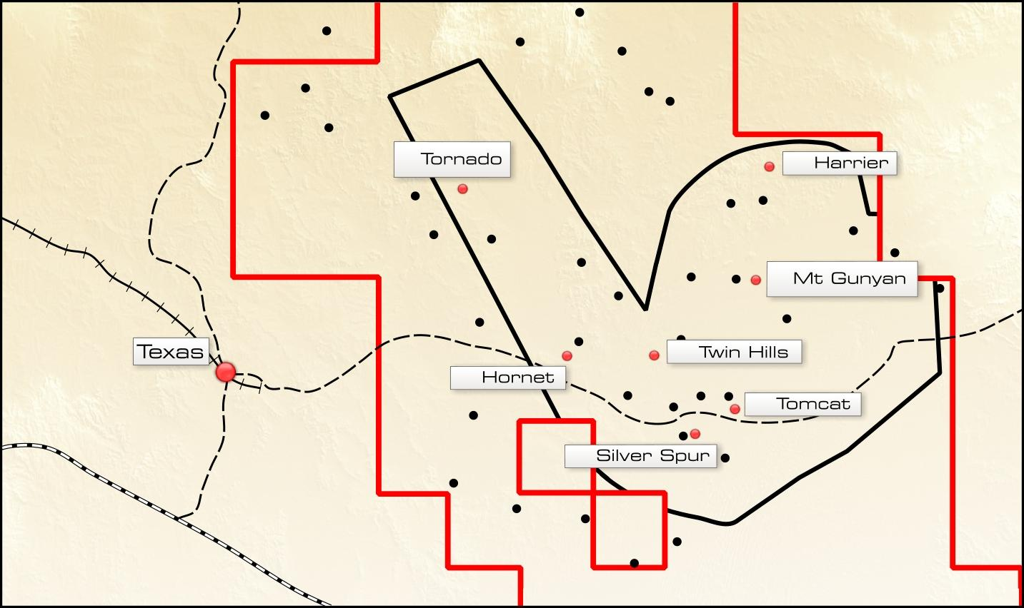 Priority Exploration Targets Silver Spur Beds