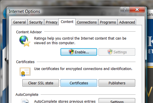 Using Step five Open Microsoft Internet Explorer and open Internet Options to begin exporting your