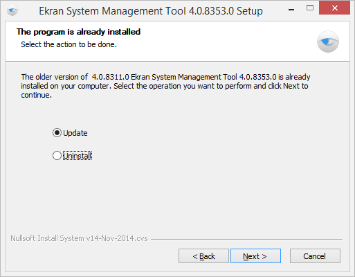 Management Tool 3. Follow the installation instructions. 4. The Management Tool will be updated to the new version. Uninstalling Management Tool To uninstall the Management Tool, do the following: 1.