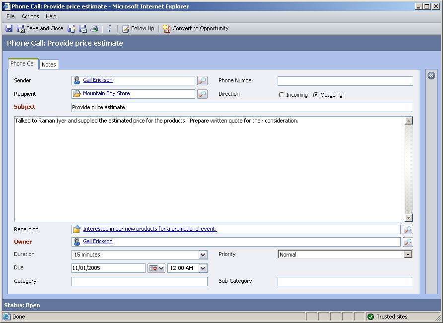 Implementing Microsoft CRM 3.