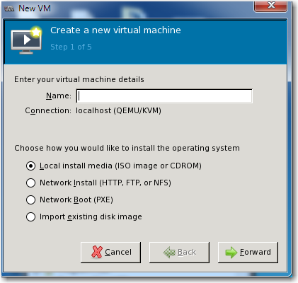 2 Create and configure the virtual machine This section includes the following tasks, in sequence: Creating the virtual machine Attaching the two volumes (virtual disks) System and Network Memory