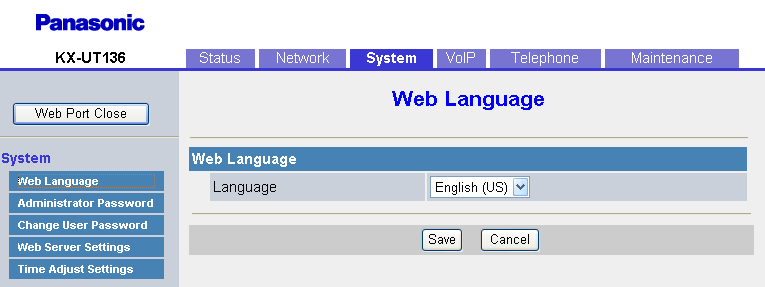 "4.4.1 Web Language Authentication Password Specifies the authentication password used to access the XML application server. Max. 63 characters (except "", &, ', :, <, >, and space) Not stored."