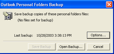 Part 2: Adjust the Outlook Backup Settings 1. Open Outlook.