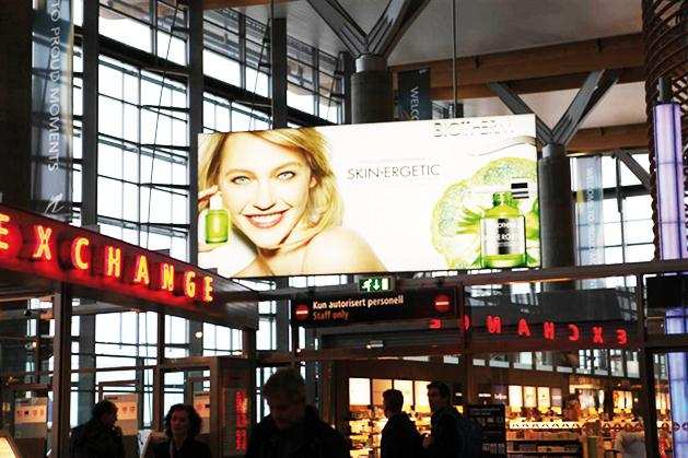 L OREAL From France to worldwide key airports Airport Media strategy (OOH / sites