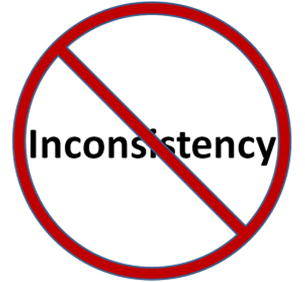 Inconsistency Most of these problems can be