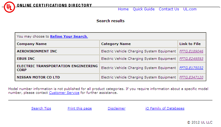 UL Certifications Directory http://database.ul.com/cgibin/xyv/cgifind.new/lisext/1frame/srchres.html?