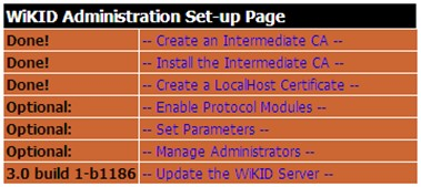 the Intermediate CA Create a LocalHost Certificate 4) Create a new domain or a device that will the WiKID server for its authentication purpose.