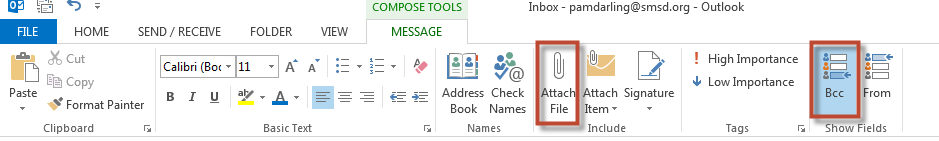 Replying to a Message in the Reading Pane: A new feature in Outlook 2013 is the ability to reply and send a message from within the Reading pane. 1.