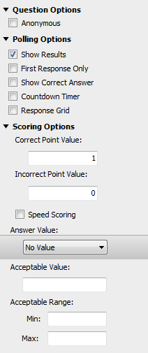 TurningPoint Cloud 28 Numeric Response A numeric response question requires participants to respond with a numeric value.