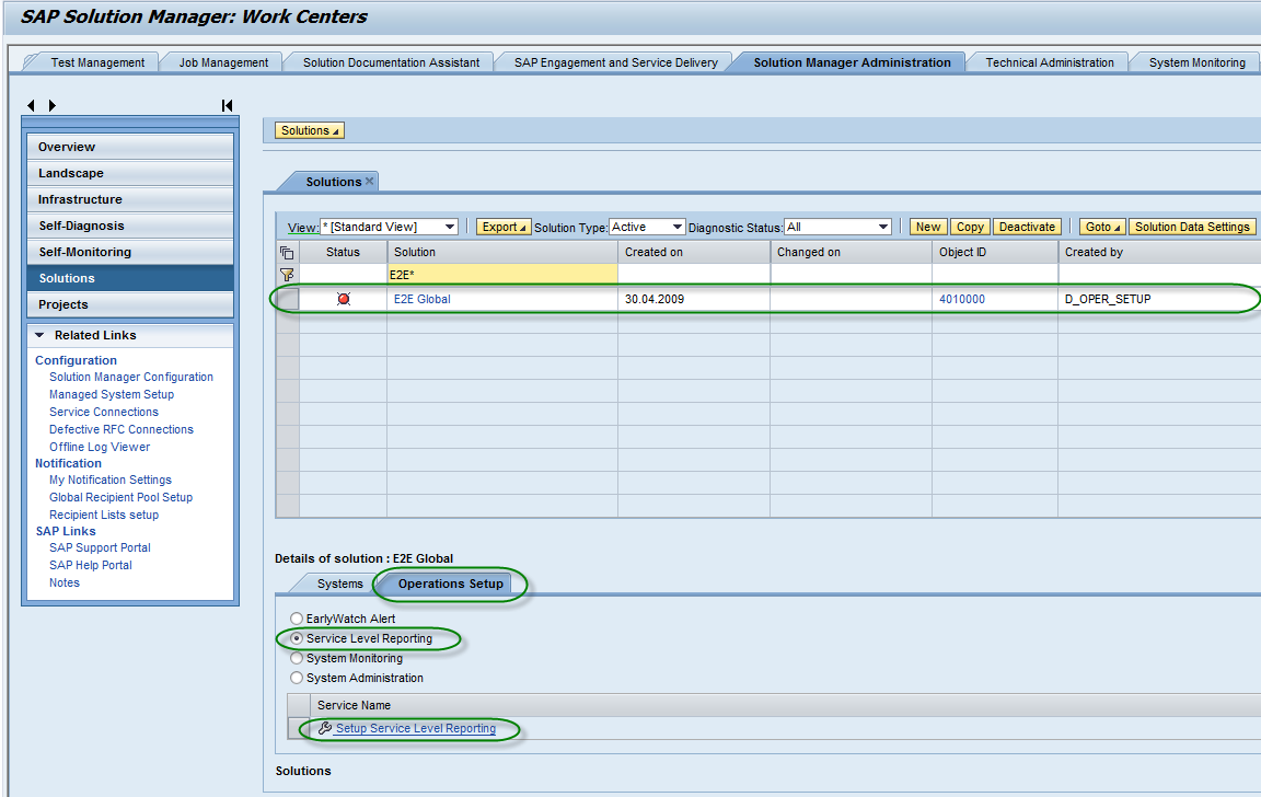 Business Process Monitoring in the SAP Solution Manager