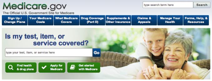 Go to http://medicare.gov/ to access the Plan Finder HOW TO USE THE MEDICARE.