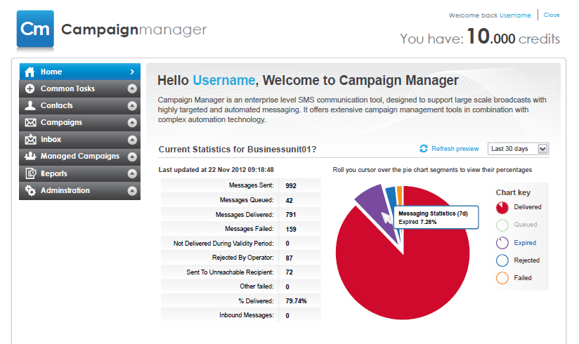 MANAGE YOUR CAMPAIGNS Multiple Campaign Statuses Campaign Manager keeps you updated with the progress of each of your campaigns from creation of the draft to deployment.