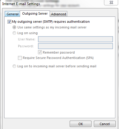 Outlook 2013 1. Open Outlook 2. Click the File tab 3. Select Account Settings 4.