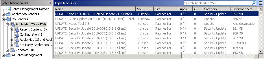 Chapter 2. Patching using Fixlets You can select the action for the appropriate Fixlets that you want to deploy from the IBM Endpoint Manager console.