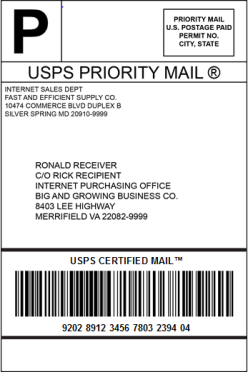 Certified Mail Description Provides a mailing receipt, and the date and time of delivery or attempted delivery. USPS maintains a PLY record of delivery (which includes the recipient s signature).