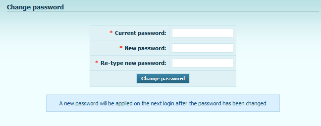 Attention: Every additional sub-account user has unique Username and password to SIEF-IT system.
