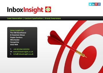 Unrivalled, Skilled Experience Inbox Insight was founded in August 2010 by a group of email direct marketing experts.