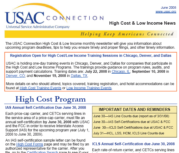 Advertising and Outreach Subscribe to the HCLI Newsletter Filing