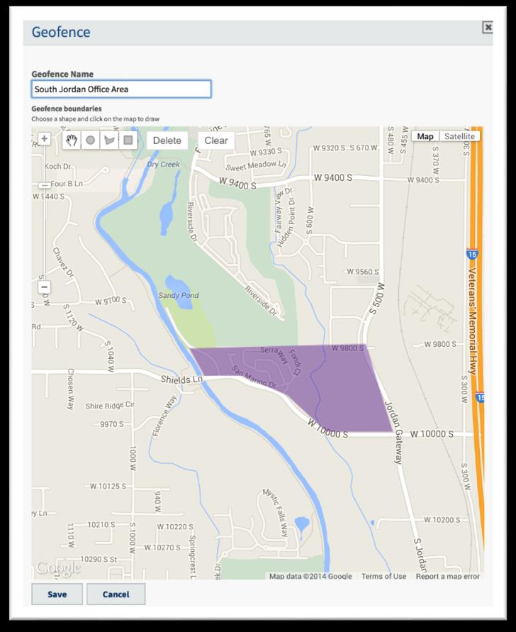 Compliance Visibility Geofencing Location