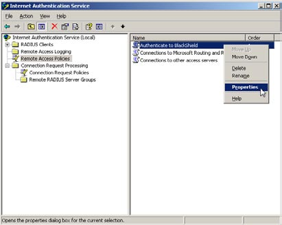 Adding Filter-Id attribute to Remote Access Policy (Windows 2003) This is section is specifically for adding a Filter-Id attribute to a Remote Access Policy within Windows 2003 Internet