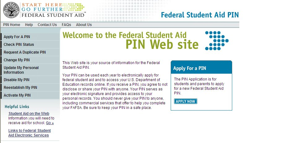 gov Sign FAFSA electronically Not required, but speeds