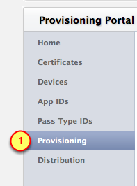 Create and install Provisioning Profile We need a Provisioning Profile that is enabled for Push Notifications.