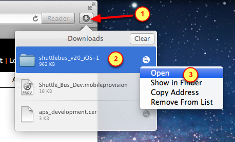 4. Download source code as a zip package 1. Click on the Download.zip archive link 5.