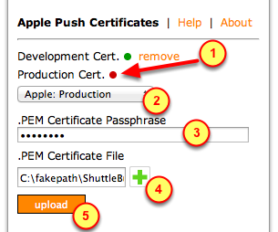 "3. Click on ""New Profile"" Then follow previous steps in this Tutorial for obtaining a Certificate. 2."