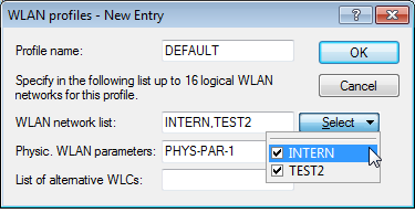 For individual devices, the operating mode of the WLAN modules can be found in LANconfig under Wireless LAN > General > Physical WLAN settings > Operation mode : If you need to change the operating