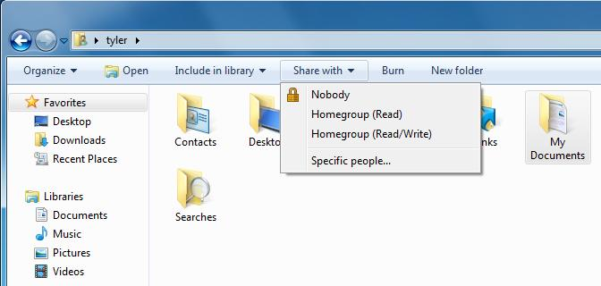 how to make a homegroup windows 7