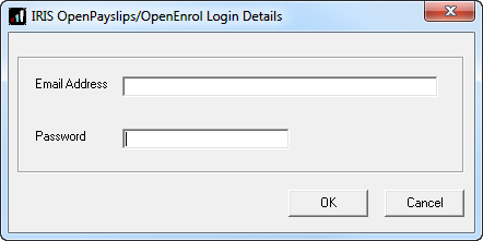 How to set up IRIS OpenEnrol in the payroll software The New Administrator - Email Address needs to be added to the payroll software and all employees must have a valid email address. 1.
