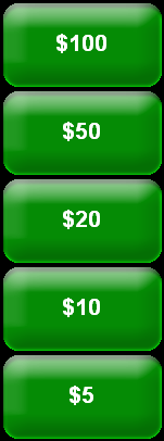 62 Tender Guest Check to Cash Use this key to tender a guest check paid with cash. Your system may have preset cash keys ( [$5], [$10], [$20] ) to make payment entry quicker. Open Entry Cash Key 1.