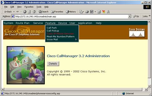Configuration Procedures in Cisco CallManager After all IP agent phones are added to Cisco CallManager, perform the following tasks in Cisco CallManager Administration.