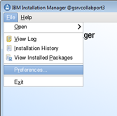 If Success you can click Restart Installation Manager, otherwise correct error and re-try.