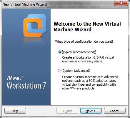 Click on this option to create the virtual computer. 2.