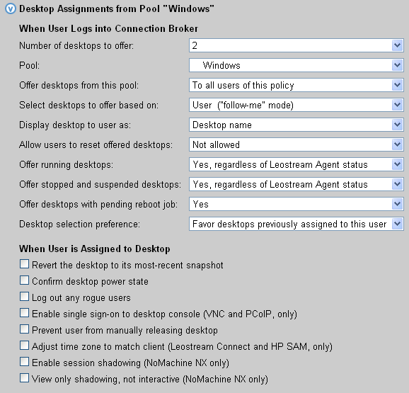 Chapter 2: Quick Setup In a simple proof-of-concept environment, many of these settings can be left at their default values.