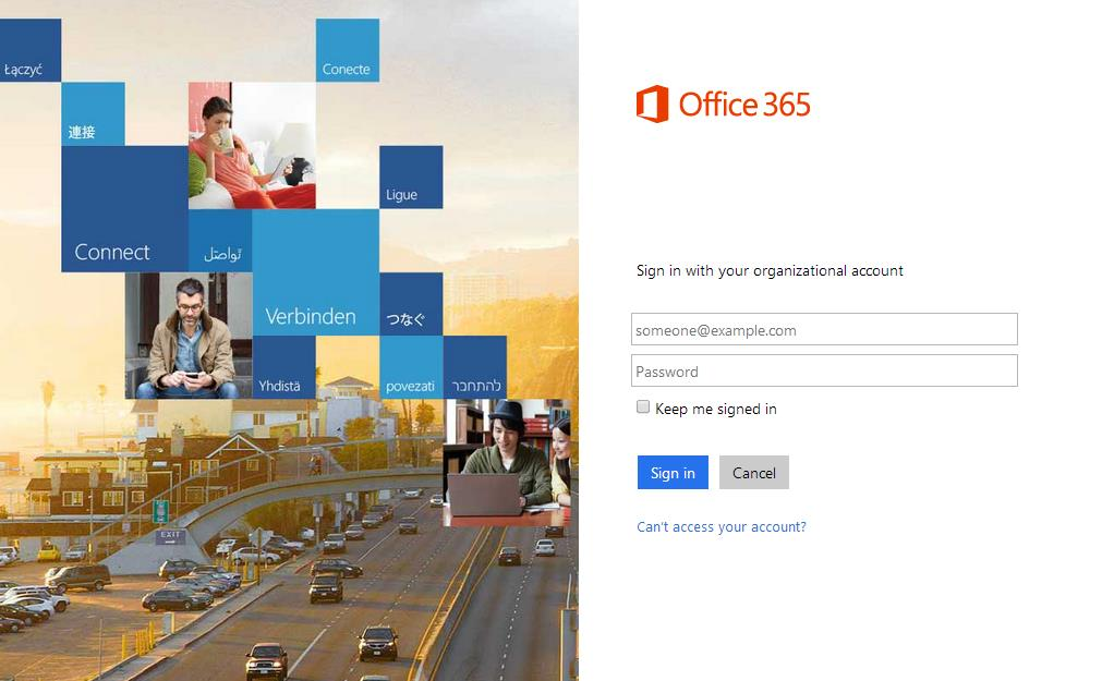 2 Getting Started Click here to for the Office 365 Login page: Office 365 Sign-In In Office 365, you have complete