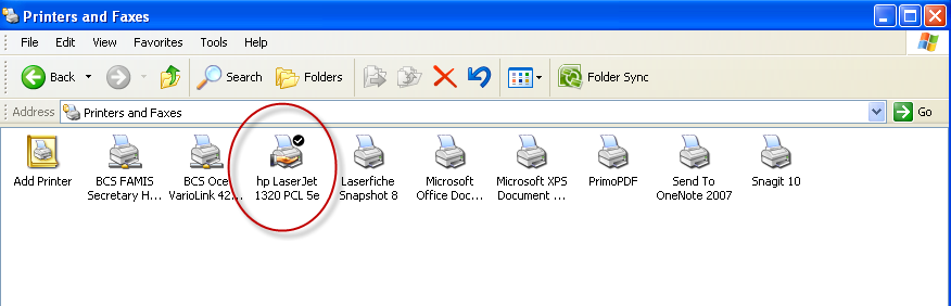 Getting Your Printer Connected TAMUS Terminal Server Setup On your local PC, you will need to find out what type of printer driver you are currently using.