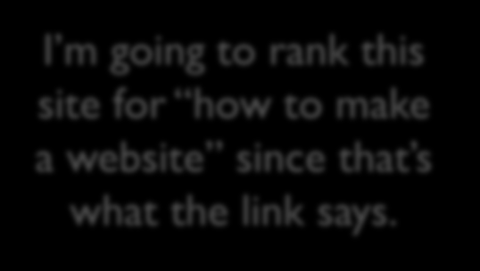 Why Do Search Engines Care About Links?