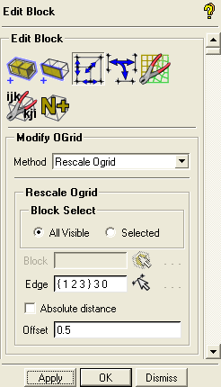Figure 15: Blocking with the O-Grid Structure 4. Modify the O-Grid.