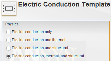 Thermal-electric-structural
