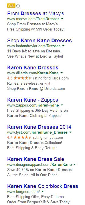 Owning the Google Results Page............................................................................................. 3 I.