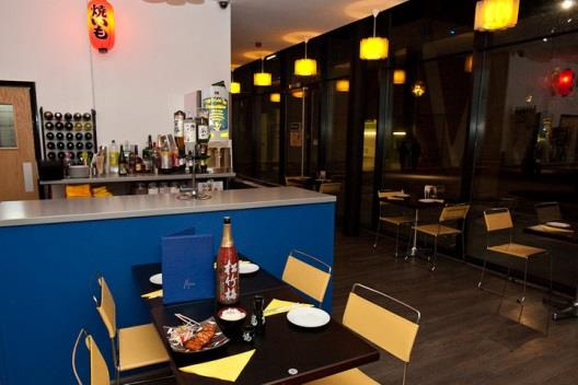 Sushi Bar - Barking Denham Electrical & Building Services completed the designed and build for the Sushi restaurant, to the highest standard,