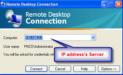 Now we use Students to Remote Desktop - Client (Students) can also remote Desktop