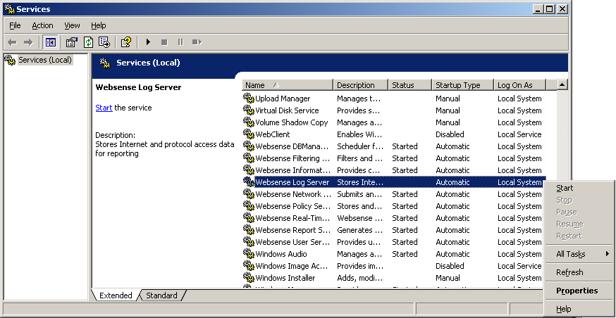 Chapter 2: Configuring to Use Windows Trusted Connection Reporter Scheduler Service Setup Scheduling Reports to run is done via the Reporter window.