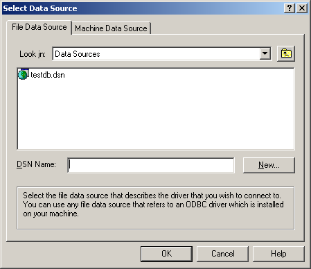 Chapter 6: Connecting to the Log Database Creating a New Database Connection for Reporter You may need to create an ODBC connection manually on the Reporter machine to allow that machine to