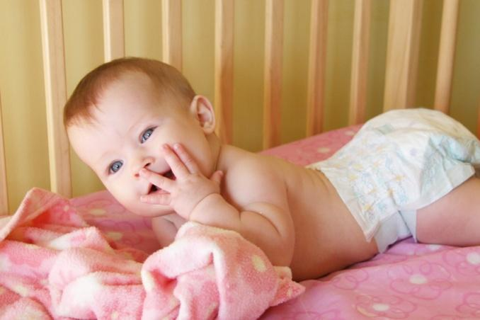 Physical Development at Two to Four Months 7 Two Months Four Months Can hold head up and begins to push up when lying on tummy Makes smoother movements with arms and legs Holds head steady,
