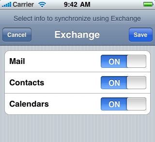 4 MOBILE DEVICE SETTINGS Before setting your mobile phone, please remove all existing Exchange e-mail accounts. 4.1 GENERAL SETTINGS E-mail address: name.surname@company.com (example: koraljka.
